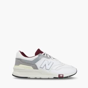 נעליים ניו באלאנס לגברים New Balance CM997 - אפור/לבן
