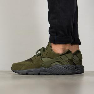 נעליים נייק לגברים Nike Air Huarache Run - ירוק