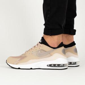 נעליים נייק לגברים Nike Air Max 93 - חום בהיר