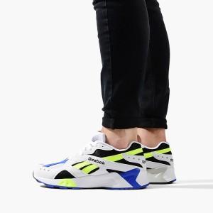 נעליים ריבוק לגברים Reebok Aztrek - אפור/צהוב