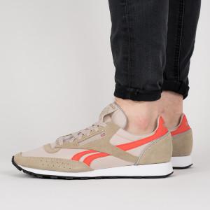 נעליים ריבוק לגברים Reebok Classic 83 - חום/כתום