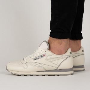 נעליים ריבוק לגברים Reebok Classic Leather 1983 - בז'