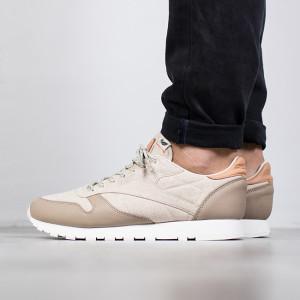 נעליים ריבוק לגברים Reebok Classic Leather Eco Pack - חום/בז'