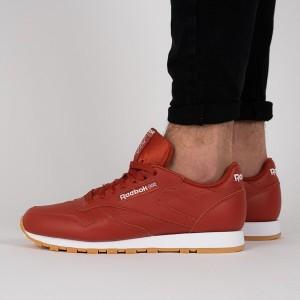 נעליים ריבוק לגברים Reebok Classic Leather - אדום