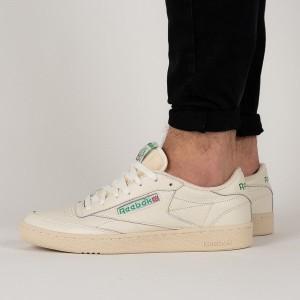 נעליים ריבוק לגברים Reebok Club C 85 - בז'