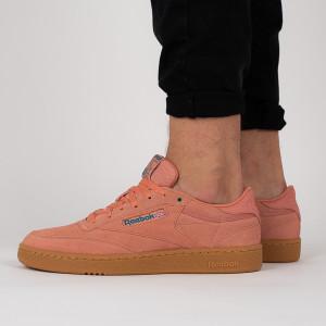 נעליים ריבוק לגברים Reebok Club C 85 MU - כתום