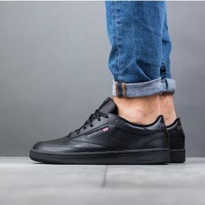 נעליים ריבוק לגברים Reebok Club C 85 - שחור מלא