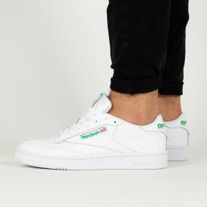 נעליים ריבוק לגברים Reebok Club C 85 - לבן/ירוק