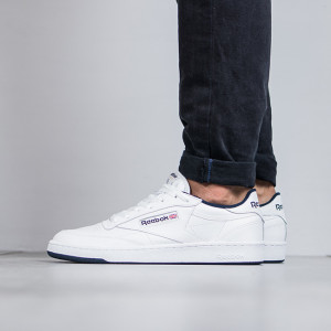נעליים ריבוק לגברים Reebok Club C 85 - כחול/לבן