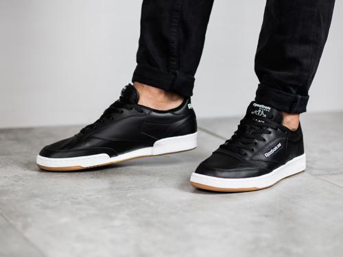 נעליים ריבוק לגברים Reebok Club C 85 - שחור