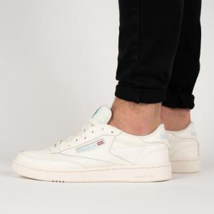 נעליים ריבוק לגברים Reebok Club C 85 - לבן
