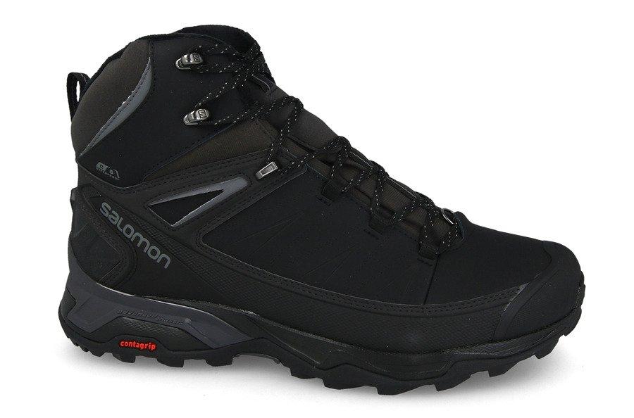 נעלי טיולים סלומון לגברים Salomon X Ultra Mid Winter CS WP - שחור
