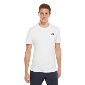חולצת T דה נורת פיס לגברים The North Face Simple Dome Tee - לבן