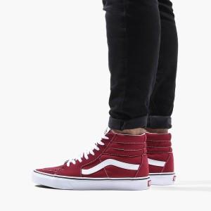 נעליים ואנס לגברים Vans Sk8-Hi - אדום