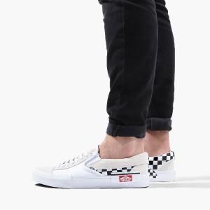 נעליים ואנס לגברים Vans Slip-On Cap - לבן