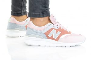 נעלי סניקרס ניו באלאנס לנשים New Balance CW997 - ורוד/אדום