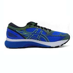 נעליים אסיקס לגברים Asics Gel-Nimbus 21 - כחול/ירוק