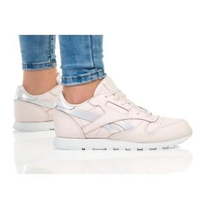 נעליים ריבוק לנשים Reebok Classic Leather - לבן/ורוד