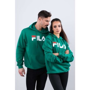 בגדי חורף פילה לנשים Fila PURE HOODY 177 - ירוק
