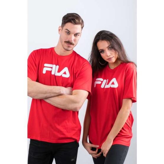 חולצת T פילה לגברים Fila PURE SHORT SLEEVE SHIRT 006 - אדום