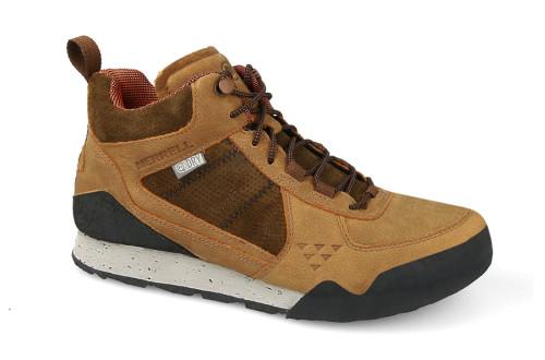 נעלי טיולים מירל לגברים Merrell  BURNT ROCK MID - חום