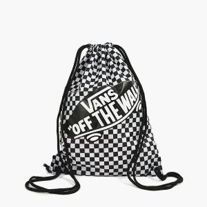 אביזרים ואנס לנשים Vans Benched Bag - שחור/לבן