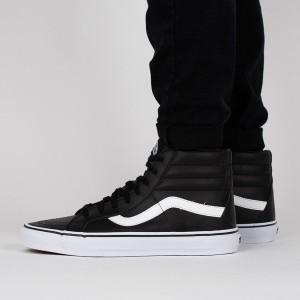 נעליים ואנס לנשים Vans Sk8-Hi Reissue - שחור/לבן