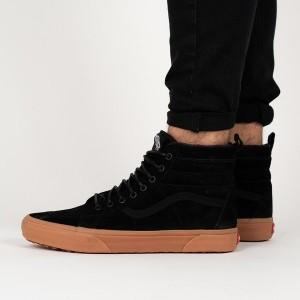 נעליים ואנס לנשים Vans Sk8-Hi - שחור/חום