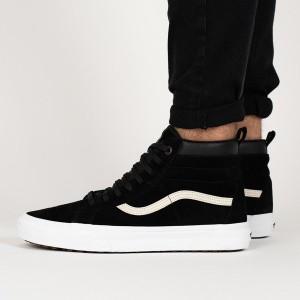 נעליים ואנס לנשים Vans Sk8-Hi - שחור/לבן