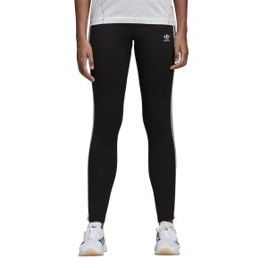 ביגוד Adidas Originals לנשים Adidas Originals 3-Stripes Tight - שחור