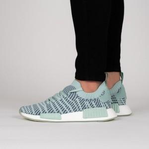 נעליים Adidas Originals לנשים Adidas Originals NMD_R1 Stlt Primeknit W - תכלת