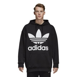 ביגוד Adidas Originals לנשים Adidas Originals Tref Over Hood - שחור