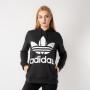 בגדי חורף Adidas Originals לנשים Adidas Originals Trefoil - שחור