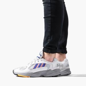 נעליים Adidas Originals לגברים Adidas Originals Yung-1 - לבן/אפור