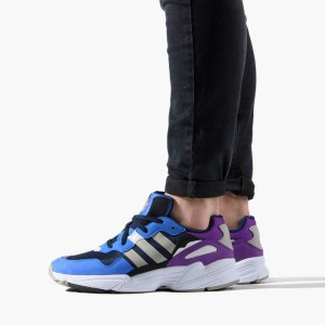 נעליים Adidas Originals לנשים Adidas Originals Yung-96 - סגול/כחול