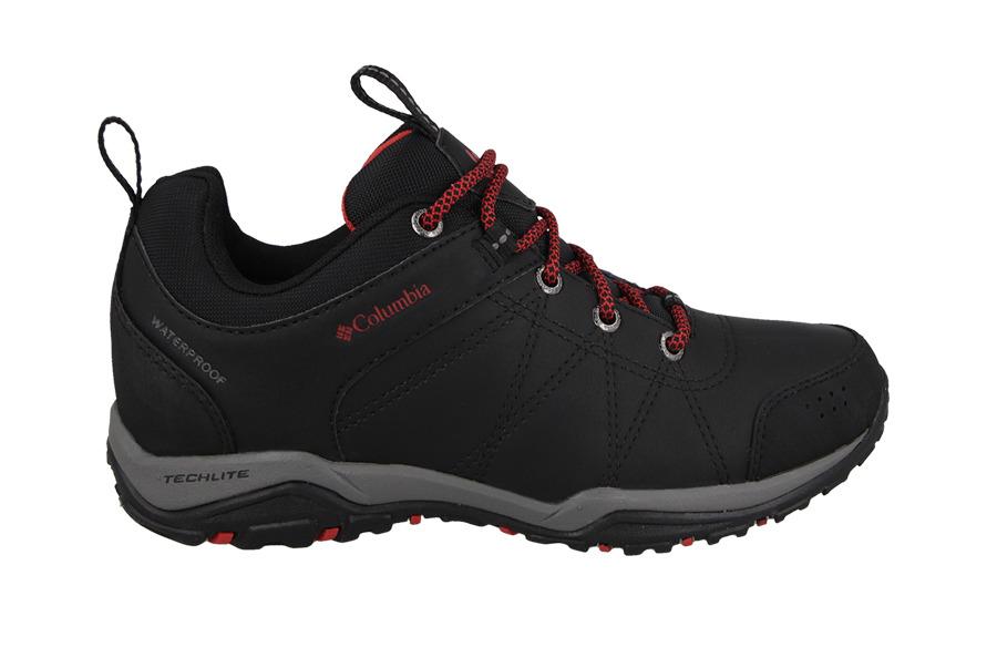 נעלי טיולים קולומביה לנשים Columbia FIRE VENTURE - שחור/אדום