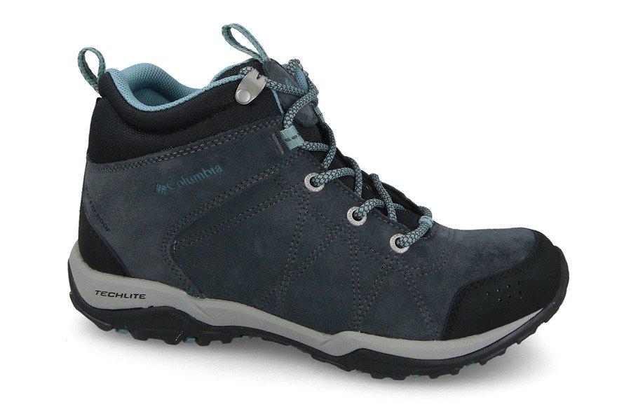 נעלי טיולים קולומביה לנשים Columbia Fire Venture - כחול