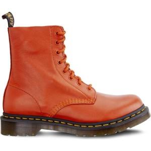 מגפיים דר מרטינס  לנשים DR Martens 1460 PASCAL VIRGINIA BURNT ORANGE VIRGINIA - כתום
