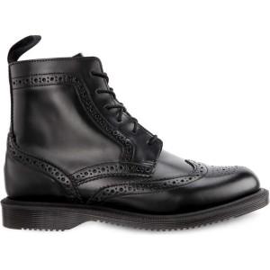 מגפיים דר מרטינס  לנשים DR Martens Delphine Black - שחור
