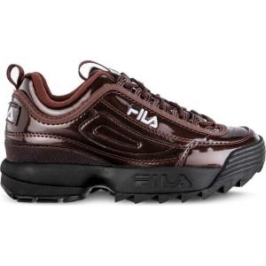 נעליים פילה לנשים Fila DISRUPTOR M LOW WMN 40K - בורדו