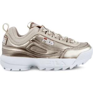 נעליים פילה לנשים Fila DISRUPTOR MM LOW WMN 80C - זהב
