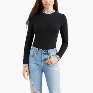 ביגוד ליוויס לנשים Levi's Ls Bodysuit - שחור