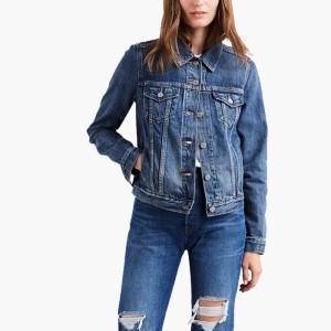 בגדי חורף ליוויס לנשים Levi's Original Trucker - כחול