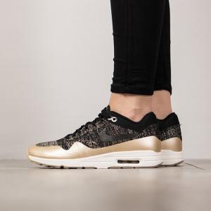 נעליים נייק לנשים Nike Air Max 1 Ultra 2.0 Flyknit - בז'