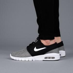 נעליים נייק לנשים Nike Stefan Janoski Max - אפור/שחור