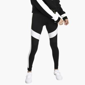 ביגוד פומה לנשים PUMA Chase Legging - שחור/לבן