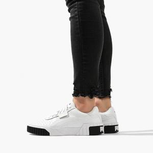 נעלי סניקרס פומה לנשים PUMA x Cali - לבן/שחור