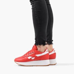 נעליים ריבוק לנשים Reebok Classic Leather Double - אדום