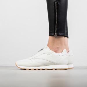 נעליים ריבוק לנשים Reebok Classic Leather Zip - לבן