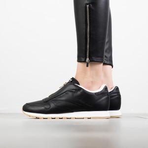 נעליים ריבוק לנשים Reebok Classic Leather Zip - שחור